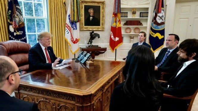 Twitter Diancam Presiden AS, Bosnya Pasang Badan