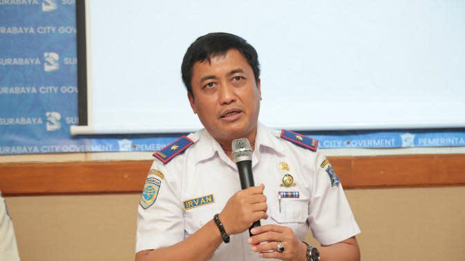 Kepala Dinas Perhubungan (Dishub) Kota Surabaya, Irvan Wahyudrajad. (Foto: Liputan6.com/Dian Kurniawan)