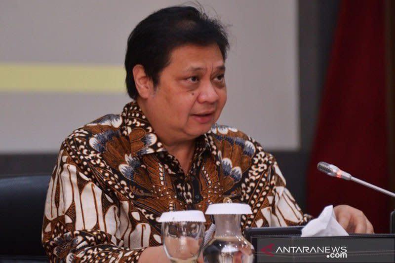 Menko Airlangga ungkap permintaannya pada Anies terkait PSBB total