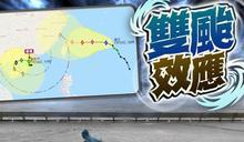 查帕卡料因藤原效應將在南海轉彎 或可打破最長風球紀錄