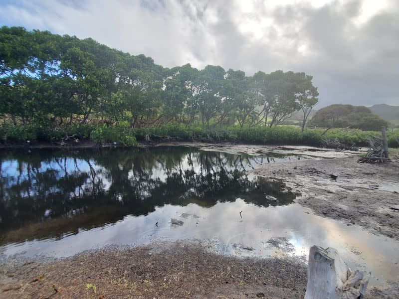 Mauritius starts to scuttle Japanese oil-spill vessel