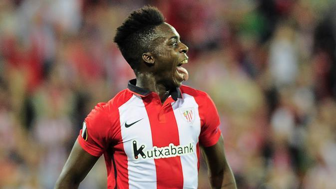 Penyerang Athletic Bilbao, Inaki Williams. (AFP/Ander Gillenea)