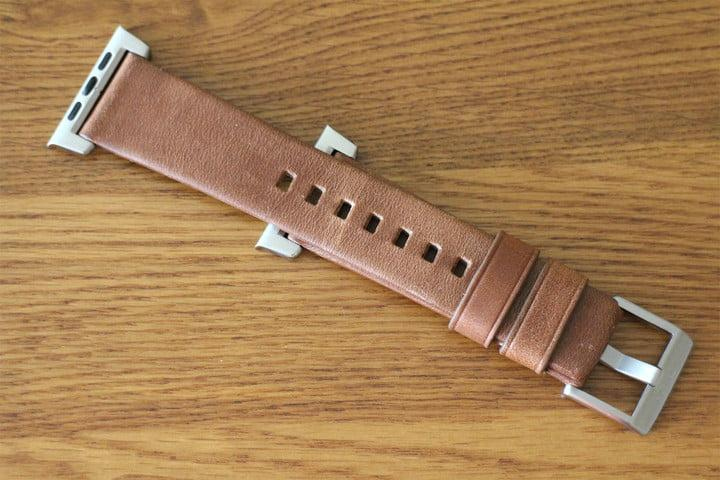best Apple Watch bands Nomad Leather Strap bottom