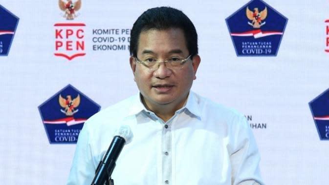 Juru Bicara Satgas Penanganan COVID-19 Wiku Adisasmito menyayangkan persepsi masyarakat yang menyatakan kebal terhadap COVID-19 saat konferensi pers di Kantor Presiden, Jakarta, Selasa (29/9/2020). (Biro Pers Sekretariat Presiden/Lukas)