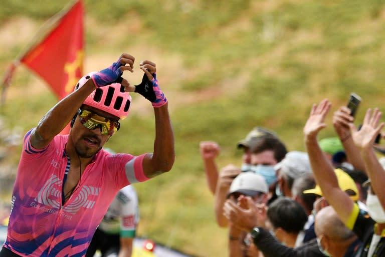 Roglic tightens Tour de France grip as champion falters