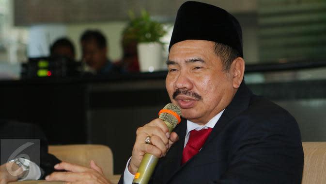 Ketua Pusat Pelaporan dan Analisis Transaksi Keuangan (PPATK), Kiagus Ahmad Badaruddin. (Liputan6.com/Angga Yuniar)