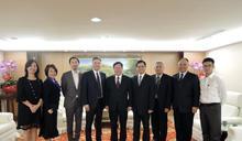 深化雙方未來合作 微軟大中華區總裁拜會桃園
