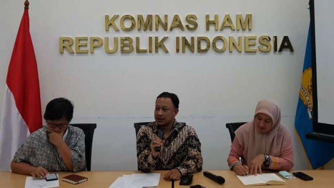 Komnas HAM Dapat Aduan Sekolah Jadi Pos Koramil di Intan Jaya