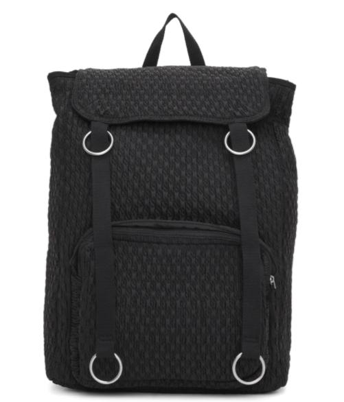 Raf Simons black Eastpak edition padded loop topLoad backpack, 48% off. US$167 (was US$321). PHOTO: Ssense