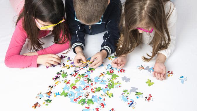 Manfaat Bermain Puzzle untuk Anak (Montenegro/Shutterstock)