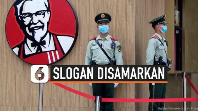 VIDEO: Slogan Unik KFC dihentikan Sementara Setelah 64 Tahun