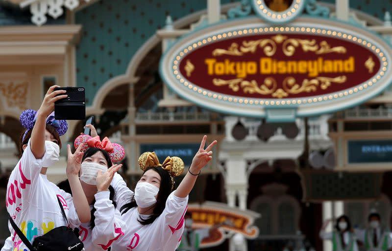 Reopening of Tokyo Disneyland and Tokyo DisneySea in Urayasu