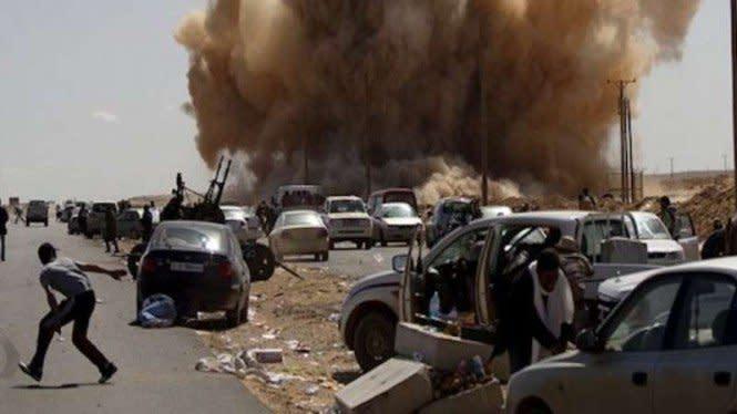 Tentara Libya Ngamuk, 13 Drone Turki Ditembak jatuh