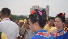 湄洲媽祖侍女「媽祖頭」受注目 傳統裝扮超過千年歷史
