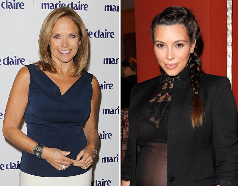Kim Kardashian Slams Katie Couric, Offers Up Proof Why She's 'Fake'