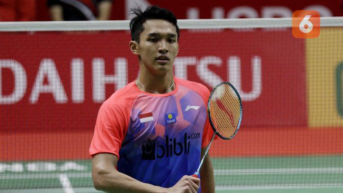 Indonesia Masters 2020: Jonatan Christie Ikuti Jejak Ginting ke Perempat Final