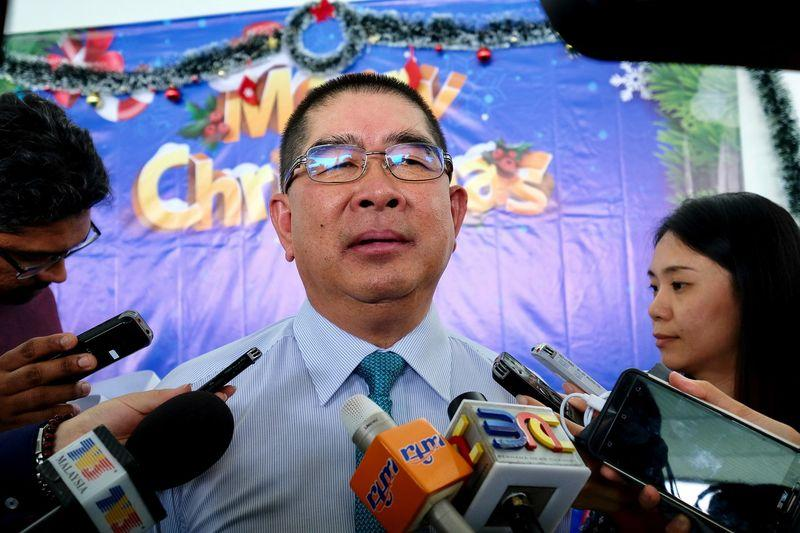 PBS president Datuk Maximus Ongkili (pic) said his party and former Putatan MP Datuk Marcus Mojigoh were at the exploratory stage in this matter. — Bernama pic