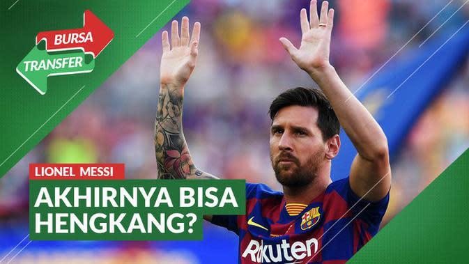 VIDEO Bursa Transfer: Ayah Lionel Messi Keluarkan Pernyataan Soal Klausul 700 Juta Euro di Barcelona Sudah Tidak Berlaku