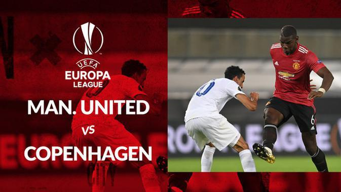 MOTION GRAFIS: Penalti Bruno Fernandes Bawa Manchester United Kalahkan Copenhagen di Perempat Final Europa League