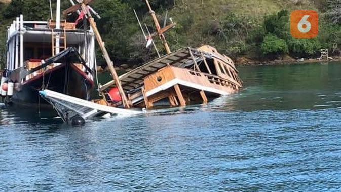 Lama 'Menganggur', Sejumlah Kapal Wisata di Labuan Bajo Tenggelam