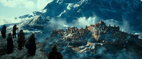 "This image released by Warner Bros. Pictures shows a scene from ""The Hobbit: The Desolation of Smaug."" (AP Photo/Warner Bros. Pictures)"