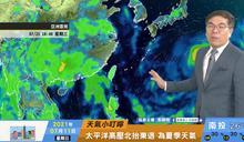 一分鐘報天氣 /週一(07/12日) 太平洋高壓勢力漸北抬東退 本週大氣穩定度逐日降低