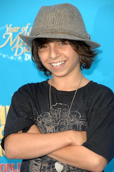 Moises Arias at arrivals for Premiere of Disney's HIGH SCHOOL MUSICAL 2, Downtown Disneyland, Anaheim, CA, August 14, 2007. Photo by: Dee Cercone/Everett Collection