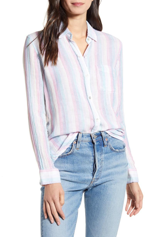 Rails Ellis Cotton Shirt. Image via Nordstrom.