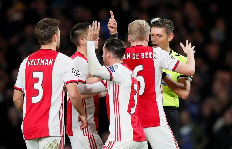 Champions League - Group H - Chelsea v Ajax Amsterdam