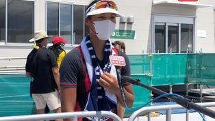划艇運動員洪詠甄稱看到與對手平排而心急 打亂了節奏