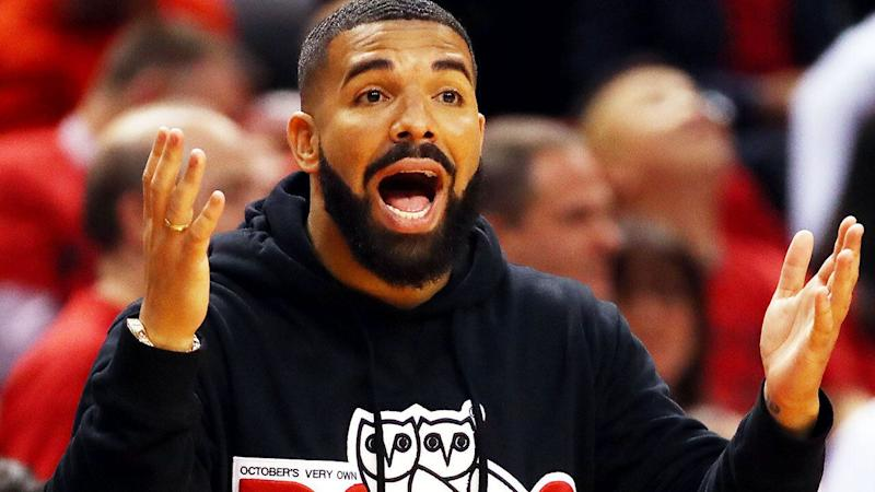 The Canadian rapper's behaviour has been labelled 'disrespectful' by some in Milwaukee Bucks circles, Toronto's opponent.
