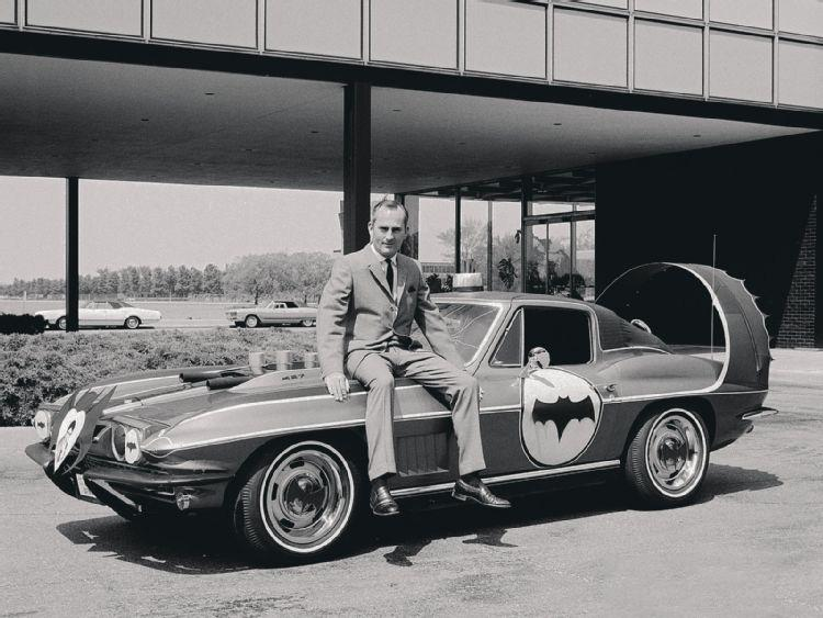 Batman's Corvette, the Batvette