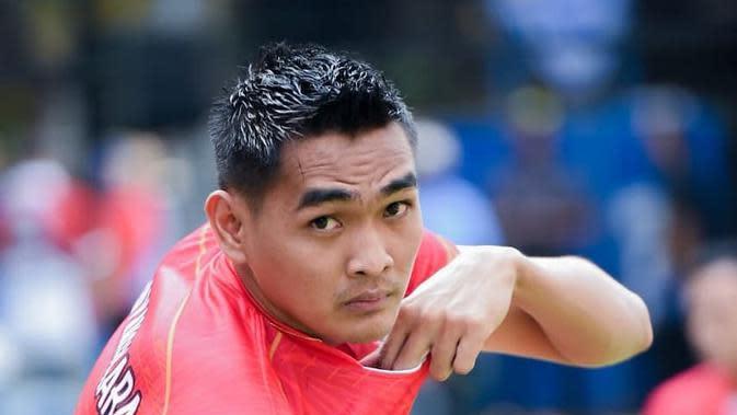 Atlet bola voli Rivan Nurmulki. (foto: Instagram @rivannurmulki)