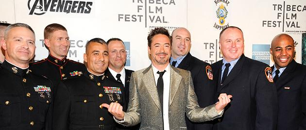 'The Avengers' closes out the 2012 Tribeca Film Festival