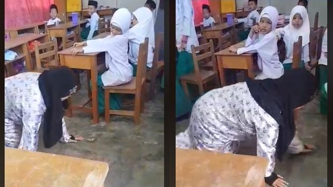 Video viral (Sumber: Facebook/ummiAlqayyum)