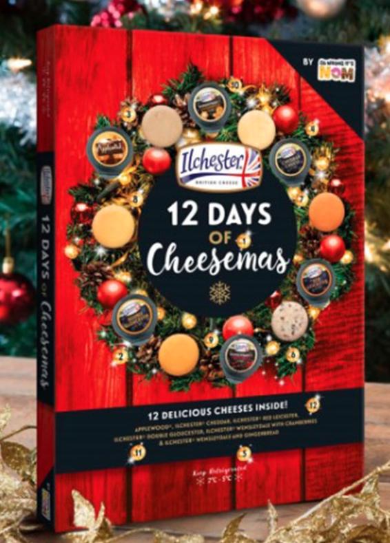 Woolworths 12 Days of Cheesemas advent calendar