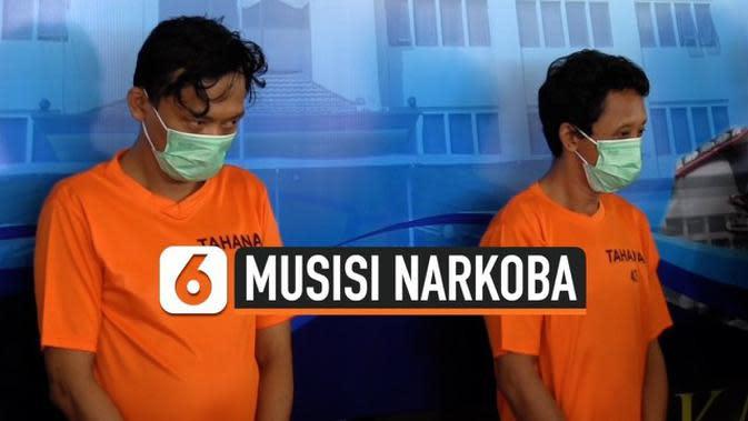 VIDEO: Mantan Drummer Band BIP Ditangkap Konsumsi Narkoba