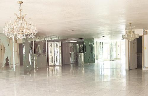 Liberace's Ex-Vegas Home: Beyond the Candelabra Is a Foreclosure Sign