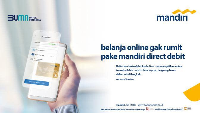 Baru Meluncur, Mandiri Direct Debit Sudah Tembus Transaksi Rp 5 Miliar