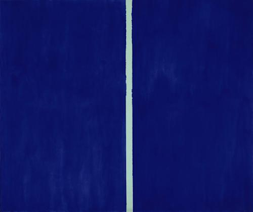 "FILE - This undated file photo provided by Sotheby's Auction House shows a 1953 painting entitled ""Onement VI"" by Abstract Expressionist Barnett Newman. The painting sold at auction Tuesday, May 14, 2013 by Sotheby's in New York for over $43.8 million. Sotheby's said Tuesday that ""Onement VI"" set a new record for the abstract expressionist artist. (AP Photo/Sotheby's Auction House, File)"