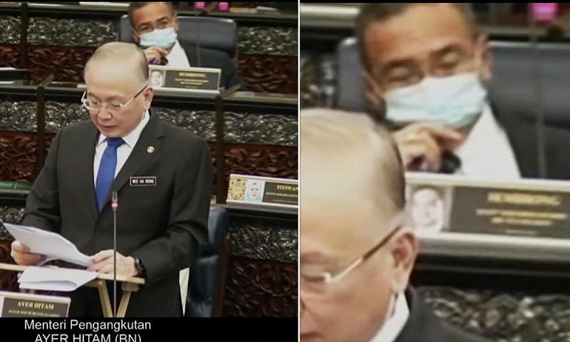 Hisham issued compound after vaping in Dewan Rakyat