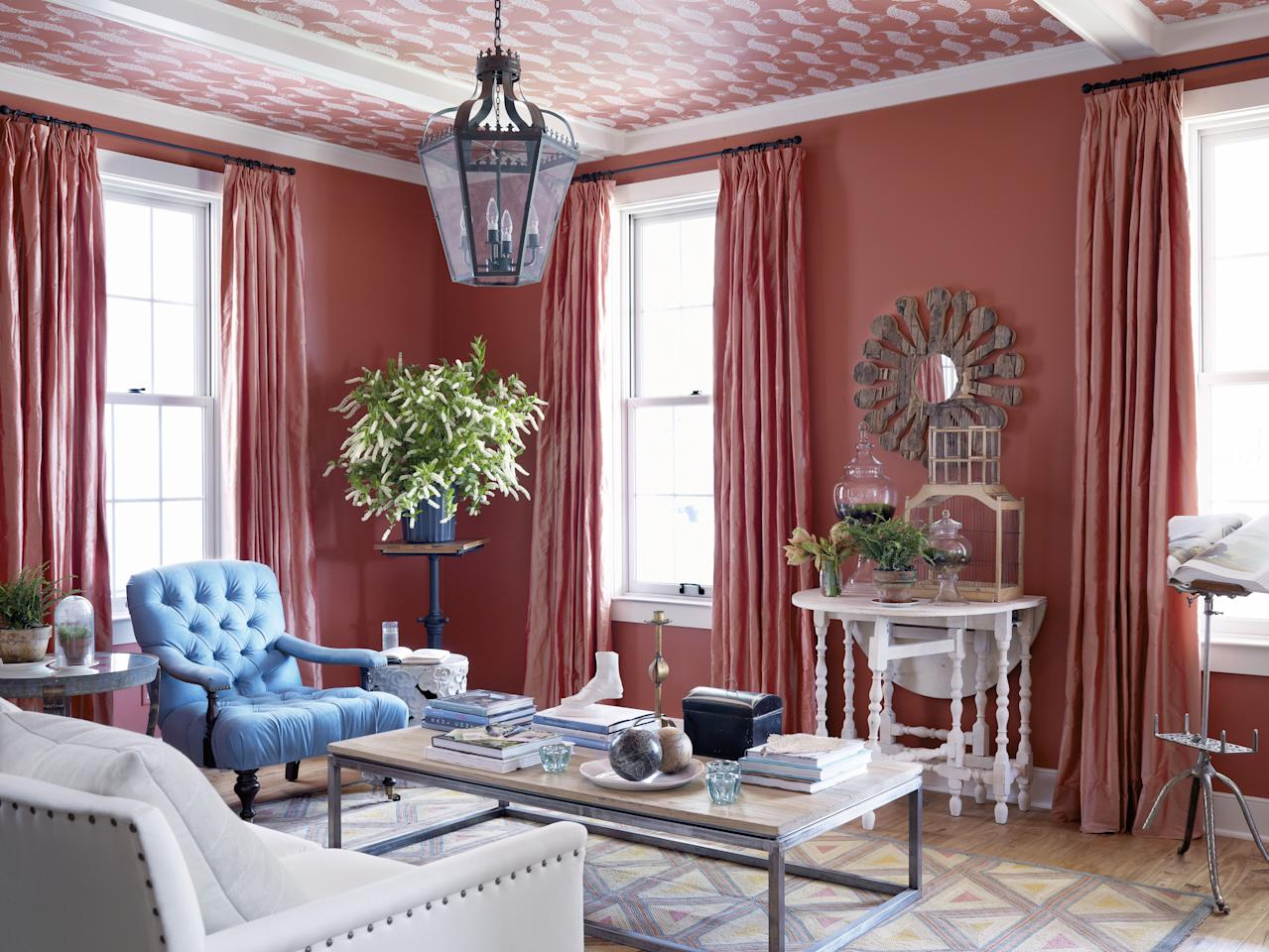 "<p>Certain paint colors can impact your mood, make a room appear brighter and larger, or even give your interior an entirely new look. That said, it's not always easy landing on the <a href=""https://www.goodhousekeeping.com/home-products/interior-paint-reviews/g2308/interior-paints/"" target=""_blank"">right paint color</a> for your space, especially when it comes to the living room. You want to choose a hue that suits your <a href=""https://www.goodhousekeeping.com/home/decorating-ideas/g1500/decor-ideas-living-room/"" target=""_blank"">living room's decor</a> and draws attention away from any flaws that might exist (there's never enough square footage or sunlight, right?). See this collection of 30 living rooms, featuring stylish paint colors for just about any aesthetic. </p>"