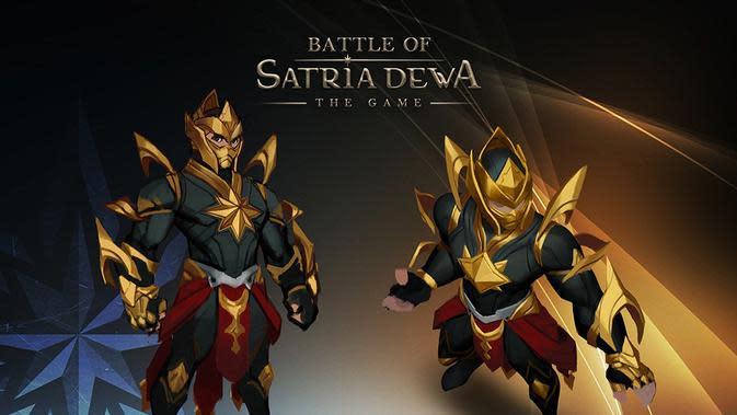 Bocoran gim Battle of Satria Dewa.