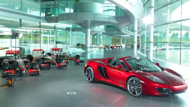 Neiman Marcus offers a dozen $354,000 McLaren convertibles for Christmas