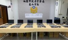 兩岸電信詐欺機房藏身公寓 警逮獲犯嫌11人