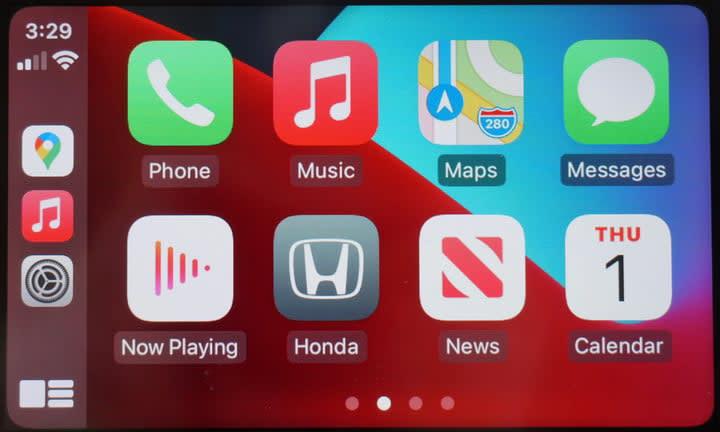 Apple CarPlay Screenshot