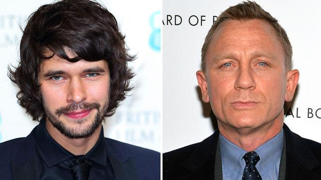Ben Whishaw injured Daniel Craig during first film shoot