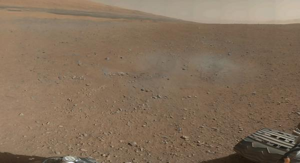 NASA Reveals Mars Rover's Morning Mix