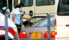 警大圍截「毒品快餐車」 警長擎槍拘捕車上3男