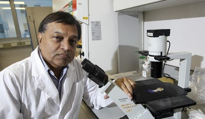 Professor Malik Peiris told the Post the researcher at his lab infected with Covid-19 'certainly acquired it in the community'. Photo: SCMP